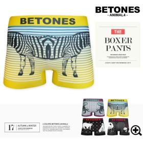 ボクサーパンツ メンズ BETONES ビトーンズ ANIMAL4 アンダーウェア 下着 プレゼント ギフト