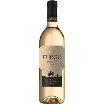 【3本(個)セット】Spanish wine スペインワイン/フェーゴ モスカテル(Fuego MOSCATEL) 白 750ml.snb
