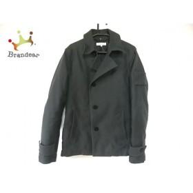 ハイダウェイニコル ジャケット サイズ46 XL レディース ダークグレー 冬物/ショート丈            値下げ 20190811