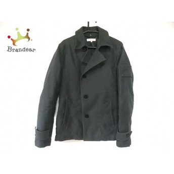 ハイダウェイニコル ジャケット サイズ46 XL レディース ダークグレー 冬物/ショート丈 スペシャル特価 20190820