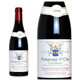 ポマール プルミエ・クリュ クロ・ブラン 2008年 ドメーヌ マシャール・ド・グラモン 750ml (ブルゴーニュ 赤ワイン)