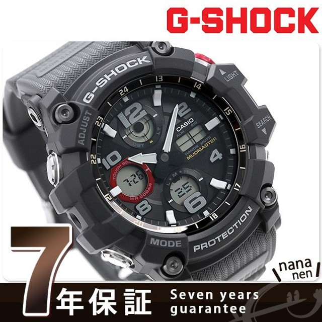 sale retailer 71586 d4a6c G-SHOCK マスターオブG マッドマスター 電波ソーラー GWG-100 ...