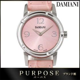 ダミアーニ DAMIANI ディサイド D-SIDE 5P ダイヤ レディース 腕時計 ピンク 文字盤 クォーツ ウォッチ