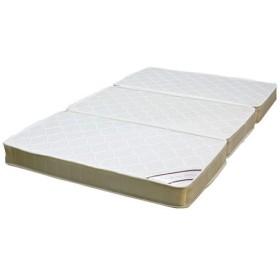 【最大1万円OFFクーポン!12/10まで】マットレス 三つ折り 折り畳み 敷き布団 D600-ES