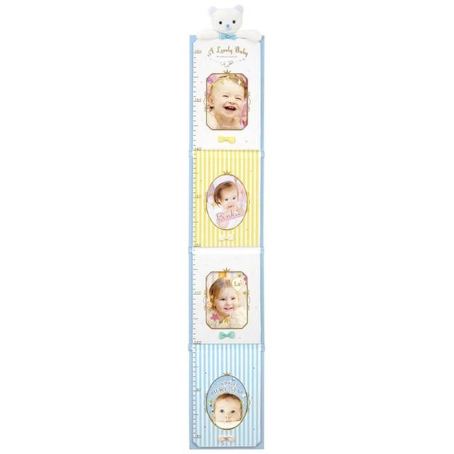 KINO(キノ) BABY HEIGHT METER FRAME ベビーハイトメーターフレーム Blue KP-31155