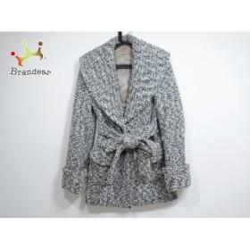 ダブルスタンダードクロージング DOUBLE STANDARD CLOTHING コート レディース 黒×白 冬物   スペシャル特価 20191129