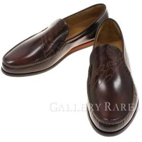 ベルルッティ シューズ カリグラフィ メンズサイズ7 1/2 Berluti 靴 メンズ ビジネスシューズ  ローファー