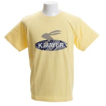 クリフメイヤー(KRIFF MAYER) ロゴTシャツ SURF 1819907-2-YEL (Men's)