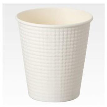 ds-1582987 (まとめ) サンナップ エンボスカップ ホワイト 210ml(7オンス) C2150E 1パック(50個) 【×5セット】 (ds1582987)