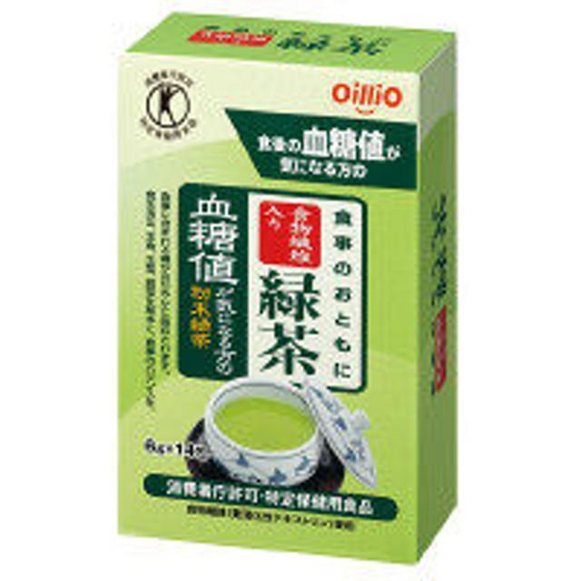 【トクホ・特保】食事のおともに食物繊維入り緑茶 6g×14包入 1箱 日清オイリオ お茶