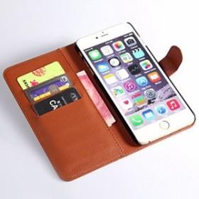 送料無料でお届け!! iPhone 6 plus 対応:カード収納、スタンド機能付きの万能な手帳型 液晶保護