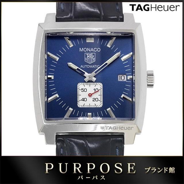 new style 98c30 9d92c タグホイヤー TAG HEUER モナコ WW2111 メンズ 腕時計 スモール ...
