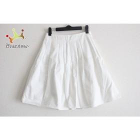 ダブルスタンダードクロージング スカート サイズ36 S レディース 美品 白               スペシャル特価 20190523