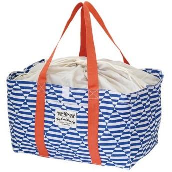 レジカゴバッグ ファニーフィールド ボーダーネイビー 400802302 雑貨 バッグ 買い物