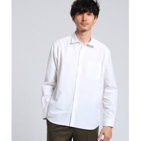 TAKEO KIKUCHI / タケオキクチ ギザ・ブロードシャツ [ メンズ トップス シャツ チェック 無地 ベーシック ]