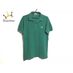 ラコステ Lacoste 半袖ポロシャツ サイズ3 L メンズ グリーン     スペシャル特価 20190508