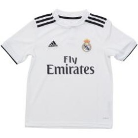 (セール)adidas(アディダス)サッカー 海外クラブ ナショナルチーム KIDSレアル・マドリード ホーム レプリカ ユニフォーム EMZ47 CG0554 ボーイズ コアホワイト/ブラック