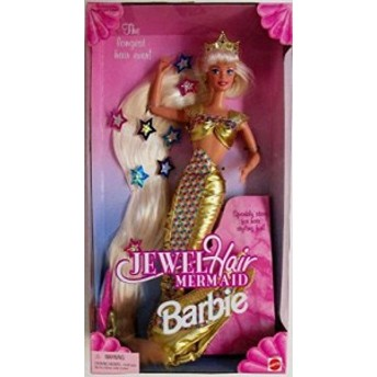 輸入バービー人形 Barbie Jewel Hair Mermaid Doll/05P26Mar16