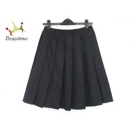 ドゥロワー Drawer スカート サイズ36 S レディース 黒 プリーツ         スペシャル特価 20190928