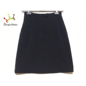 ニジュウサンク 23区 スカート サイズ40 M レディース 黒                   スペシャル特価 20191028