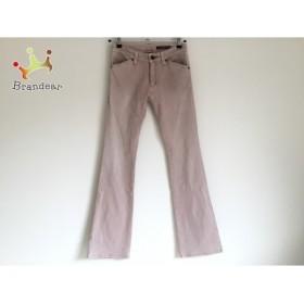 ヴィヴィアンタム VIVIENNE TAM パンツ サイズ0 XS レディース ライトグレー×ブラウン 刺繍   スペシャル特価 20190724