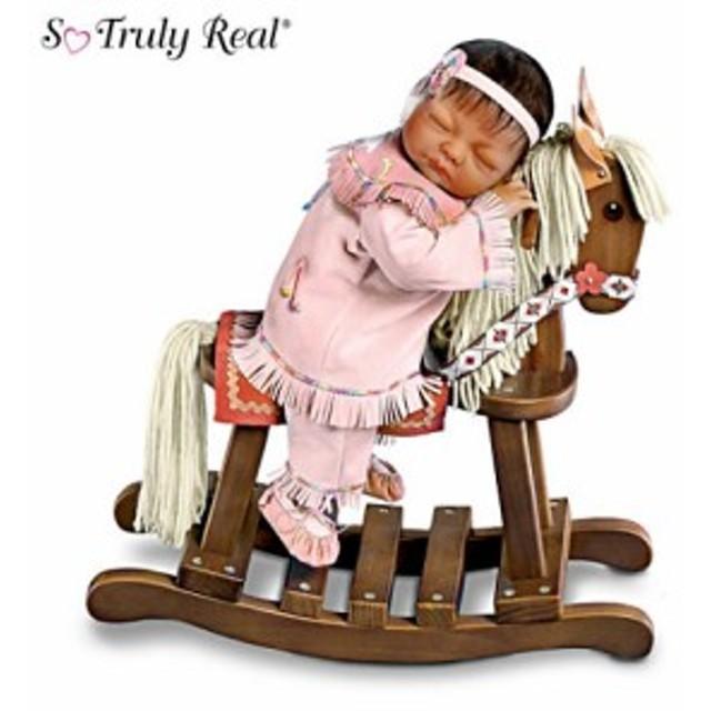 【アシュトンドレイク】Native-American Inspired Baby Doll with Rocking Ho/赤ちゃん人形/ベビードール