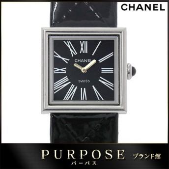 シャネル CHANEL マドモアゼル レディース 腕時計 ブラック 黒 文字盤 クォーツ ウォッチ
