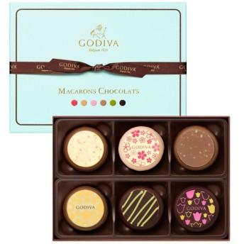 ホワイトデー チョコレート 2017年 ゴディバ マカロン 6p | 百貨店 White day