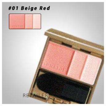 ♪ レフィル #01Beige Red カネボウ ルナソル カラーリングソフトチークス 01Beige Red レフィル<パウダーチーク><レフィル><Kanebo・カネボウ>