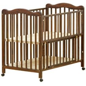 大和屋 アネシス ベビーベッド ダークブラウン 赤ちゃん ベビー用寝具 家具