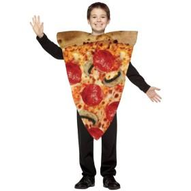 スライスピザ おもしろ仮装/コスチューム コスプレ衣装 (仮装、ハロウィン) 男の子 子供キッズ