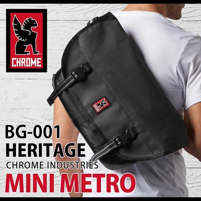 dd6e856184 メッセンジャーバッグ ショルダーバッグ CHROME クローム HERITAGE MINI METRO ミニメトロ メンズ レディース 男女兼用  ブランド