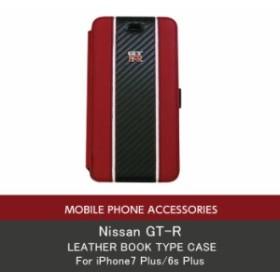 3322461866 エアージェイ 日産GT-R 公式ライセンス品 iPhone7Plus 6sPlusケース 手帳型 アイフォン7