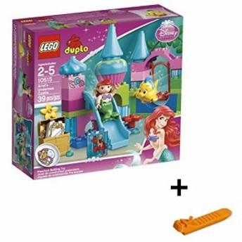 レゴ デュプロ アリエルの海のお城 10515 + レゴ 630 ブロックはずし(プレゼントし)