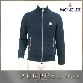 モンクレール MONCLER スウェット ジャケット コットン アウター ネイビー S メンズ