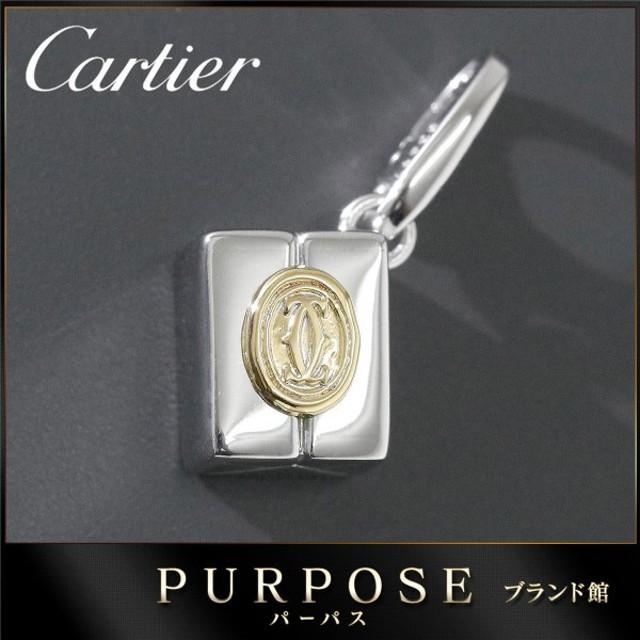 huge discount c5669 5d32a カルティエ Cartier ギフトボックス チャーム K18 WG/YG 18金 ...