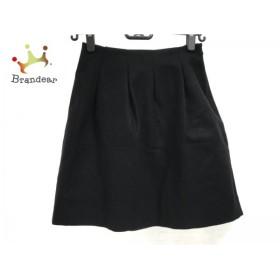 エストネーション ESTNATION スカート サイズ36 S レディース 黒             スペシャル特価 20191029