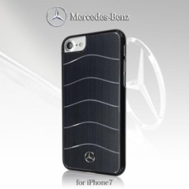 3df616cb91 エアージェイ メルセデス ベンツ 公式ライセンス品 iPhone7ケース ハードケース アルミ かっこいい Benz ブランド アイフォン