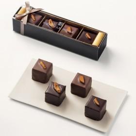 ホワイトデー チョコレート 2017年 アンリ・ルルー コフレ・ロッシェ 4個入   百貨店 White day