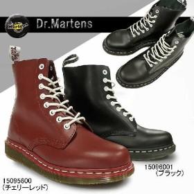 ドクターマーチン 8ホールブーツ パスカル フラットソール スチールなし メンズ ブーツ マーチンブーツ 15096001 15095600