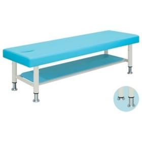 ◇サイズ選択有◇マッサージ 整体 治療 施術ベッド 高さ調節 レザー棚付 有孔リュース TB-213U