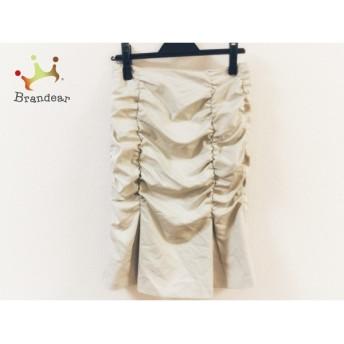 ピンキー&ダイアン Pinky&Dianne スカート サイズ38 M レディース 美品 ライトグレー フリル スペシャル特価 20190626