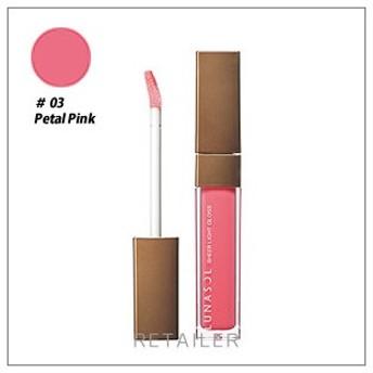 ♪ #03 ペタルピンク LUNASOL ルナソル シアーライトグロス #03 ペタルピンク <リップグロス><03 Petal Pink><カネボウ>