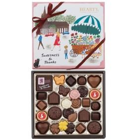 ホワイトデー お返し お菓子 モロゾフ ハーティー(ピンク) 28個入 |丸広百貨店 スイーツ