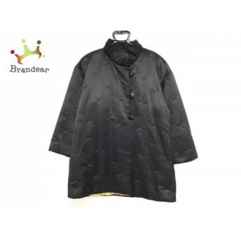 エルミダ EL MIDAS コート サイズ10 L レディース 黒 リボン/冬物 スペシャル特価 20190301