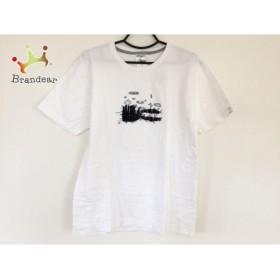 キューン CUNE 半袖Tシャツ サイズM レディース 美品 白×黒       スペシャル特価 20190526