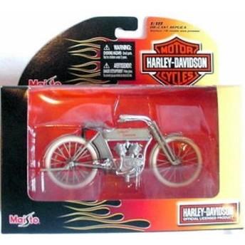 Harley Davidson ハーレーダビッドソン 1909 Twin 5D V-Twin 1:18 スケールミニカー モデルカー ダイキャ