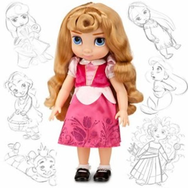 Disney USディズニー公式オーロラ姫 Aurora アニメーターズ コレクション ドール 人形 フィギュア