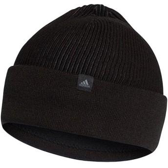 アディダス(adidas) クライマヒート リブウーリー ブラック/グレーフォアF17/グレーフォアF17 EVR27 CY6011 帽子 ニット帽 ニットキャップ 防寒