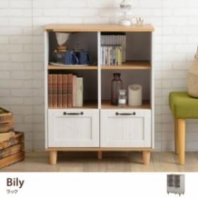 【g55179】ラック 収納 棚 バイリー BILY カントリー カントリー調 かわいい キッチン リビング 子供部屋 引き出し 可動棚